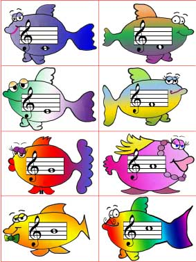 Fish Flash Cards