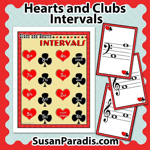 Hearts and Clubs Interval Game