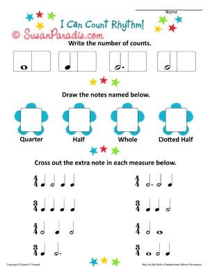 I Can Count Rhythms
