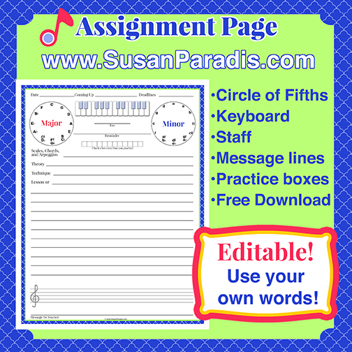 Editable Assignment Page