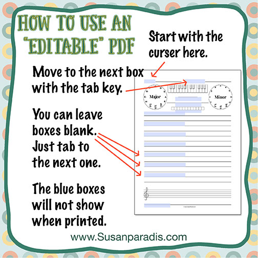 How To Use Editable PDF