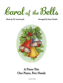 Carol of the Bells Piano Trio