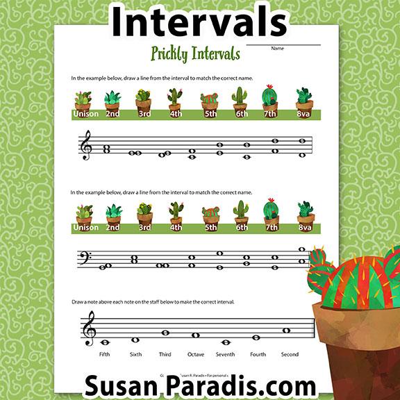 Identify Music Intervals