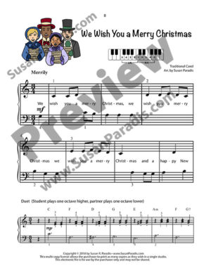 We Wish You Merry Christmas Preview