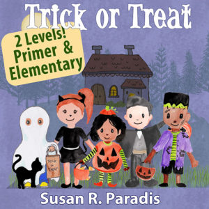 A fun Elementary Halloween piece that includes two levels/