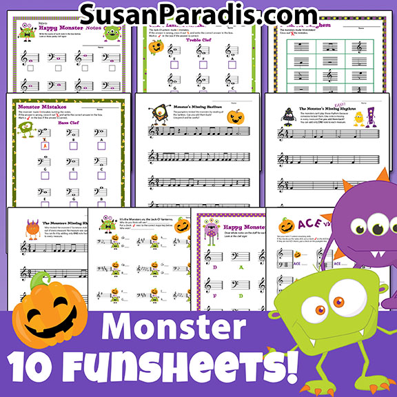 Sale on Halloween fun sheets!