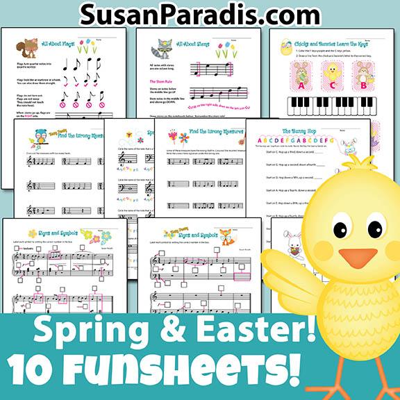 Spring Funsheets